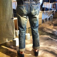 saltz:  Edwin Rainbow selvedge - 3 years and counting