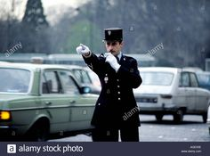France Paris Policeman Stock Photo, Royalty Free Image: 4633101 - Alamy