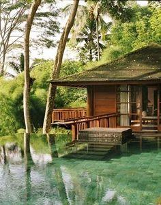 Infinity Pool + Awesome House by Nessa Like