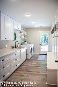 Plan Cozy 3 Bed Cottage With Bonus Pantry Laundry Room, Laundry Room Layouts, Large Laundry Rooms, Laundry Room Remodel, Laundry Room Design, Kitchen Remodel, Laundry Drying, Small Laundry, Laundry Room Inspiration