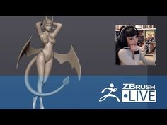 (26) Layna Lazar - 3D Sculpting for Figurine Production - Episode 4 - YouTube