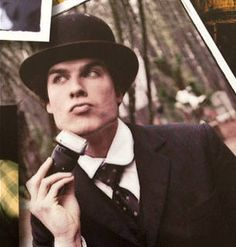 Ian Somerhalder Looks Hot in Vampire Diaries Yearbook: TVD Cute Pic of the Day!