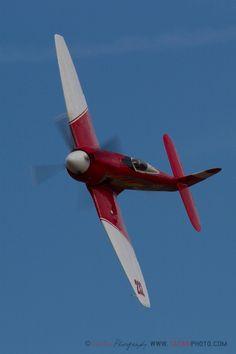 "tacairphoto: ""Hawker Sea Fury '232' rounds pylon 5 at the Reno Air Races. http://TacAirPhoto.com """