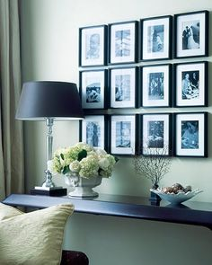 Hanging art and family photo's can be very intimidating. How to group them together properly, getting them straight and what tools to use can be enough to make us put this task off…indefinitely! Here are some quick tips to make the process painless and the outcome perfect! …