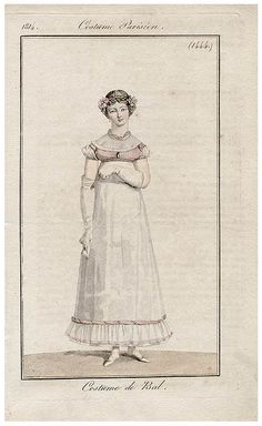 robe de bal 1814