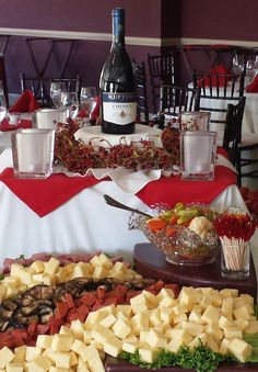 Hors d'oeuvres at a previous event in our Ballroom Hors D'oeuvres, Chocolate Fondue, Golf Clubs, Great Recipes, Desserts, Bear, Food, Tailgate Desserts, Deserts
