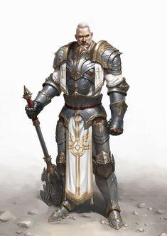 Crusader, Hyeong-seop Lim on ArtStation at https://www.artstation.com/artwork/crusader-6e04b26d-edd9-4c3a-b043-f7322290fc47