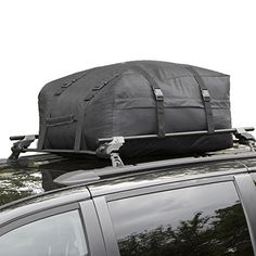 Cargo Roof Bag - Water Resistant Car Top Carrier - Easy to Install Soft Rooftop Luggage Carriers with Wide Straps - Ample Storage Space - Folds Easily - Best for Traveling, Cars, Vans, SUVs (Black) - http://www.caraccessoriesonlinemarket.com/cargo-roof-bag-water-resistant-car-top-carrier-easy-to-install-soft-rooftop-luggage-carriers-with-wide-straps-ample-storage-space-folds-easily-best-for-traveling-cars-vans-suvs-black/  #Ample, #Best, #Black, #Cargo, #Carrier, #Carriers,