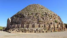 ✶Royal Mausoleum of Mauretania is an ancient tomb in ALGERIA. Built for Berber Juba II & Cleopatra Selene II, the last king & queen of Mauretania, Cleopatra Selene II, the only daughter of famed Queen Cleopatra of Egypt & Mark Antony✶