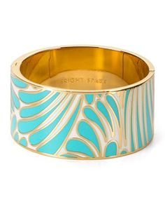 kate spade bright spark bangle  Turquoise might be my new color...lol