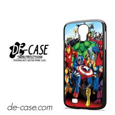 Marvel Heroes Comic Poster DEAL-6952 Samsung Phonecase Cover For Samsung Galaxy S4 / S4 Mini
