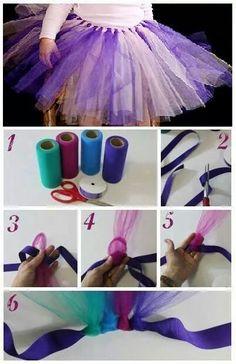 Como hacer un tutu ;)