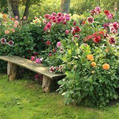50 Rustic Backyard Garden Decorations 21
