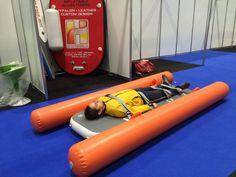 Afbeeldingsresultaat voor inflatable rescue stretcher