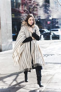 Blanket Coat Trend: We Round Up The Best In Ponchos And Blanket Coats