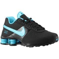 Nike Shox Deliver - Boys\u0026#39; Grade School - Black/Gamma Blue/Dark Grey