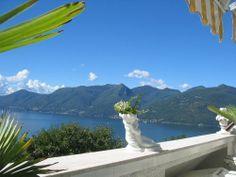 Aussicht Ferienwohnung Bihler in Luino
