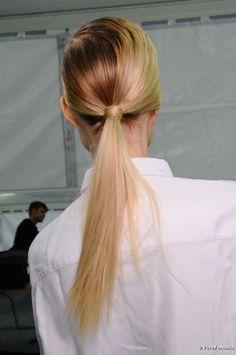 Peinados: cola de caballo y su receta ultra chic