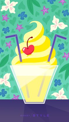 From Dole Whips to tea cups, there's something for every Parks fan with these Disney Parks wallpapers.