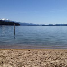 Spring time.... Priest Lake Idaho (Ledgewood park) had the whole beach to myself. It was heaven!