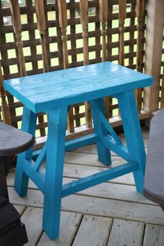 Outdoor Side Table | Do It Yourself Home Projects from Ana White