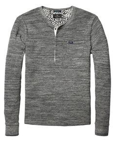Structured Grandad T-Shirt
