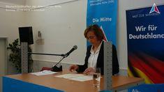 Beatrix von Storch - Rede Deutschlandtreffen der Alternative Mitte am 22...