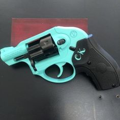 Mobile-friendly version of the 5th project picture. Ruger, Revolver, Robin's Egg Blue H-175Q