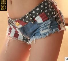 Women's new summer low-waist denim shorts hole flags nightclub ladies womans short hot sexy denim shorts  #model #sweet #swag #instalike #fashionista #stylish #dress #iwant #instastyle #cool