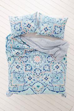 Possible new duvet for bedroom  Plum & Bow Amari Medallion Duvet Cover - Urban Outfitters