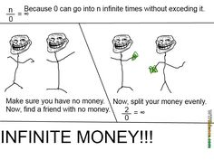 Infinite money trick - As long as you dont know math, this trick will work perfectly