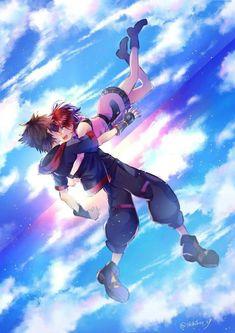 Kairi Kingdom Hearts, Kingdom Hearts Games, Kingdom Hearts Fanart, Sora And Kairi, Kh 3, Otaku, Pink Wallpaper Iphone, Mickey Mouse And Friends, Cute Disney