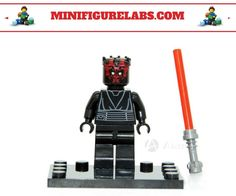 Darth maul Custom Lego minifigure minifigurelabs.com : legocustomwebsites