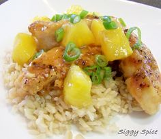 Siggy Spice: Hawaiian Pineapple Chicken