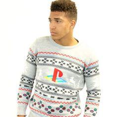 Original Playstation Christmas Jumper