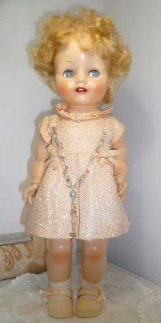 Image result for pedigree brighton belle doll Old Dolls, Antique Dolls, Vintage Dolls, Doll Toys, Baby Dolls, Brighton Belle, Is 61, Strawberry Blonde Hair, Plastic Doll