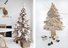 Joli place: DIY : 10 sapins de Noël en bois