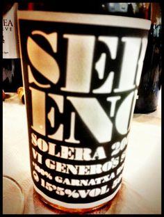 El Alma del Vino.: Celler La Vinyeta Sereno Solera 2009.