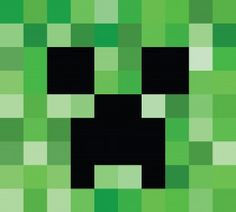 Free Minecraft Creeper Face Image fonts and downloads