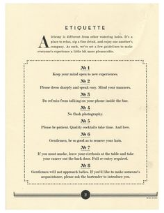 """Dress sharply and speak easy"" great line for invite. Alchemy Speakeasy Tallahassee."