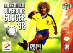 International Superstar Soccer '98 (Nintendo 64, 1998) Cartridge Only #Planetaardvark #Bettysretroshoppe #Gamers #Gaming #Gamersunite #Retro #Nintendo #N64 #16Bit #8Bit #Arcade #Retroarcade