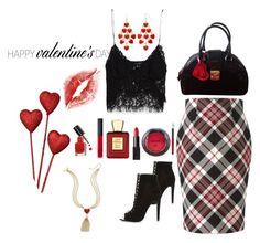 """St.Valentine"" by jbeb on Polyvore featuring Alexander McQueen, River Island, Moschino, Thalia Sodi, NARS Cosmetics, Bella Bellissima, NYX, Sephora Collection, Bobbi Brown Cosmetics and Zara"