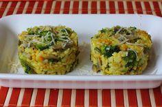 Kurkumové rizoto so zeleninou - Powered by @ultimaterecipe