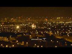Año nuevo 2016 Fuegos Artificiales en Chorrillos, Lima-Perú