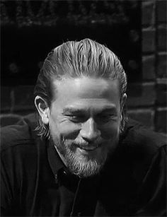 His smile...