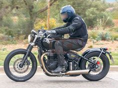 Triumph have been developing hordes of new bikes around their water-cooled Bonneville engine family and one of the strangest will be the bobber that's been spotted on test a couple of times in the last year or so. That bike has now taken a step closer to production as Triumph has officially applied for a trademark on the name 'Bonneville Bobber'.