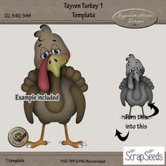 Tayven Turkey 1 Template