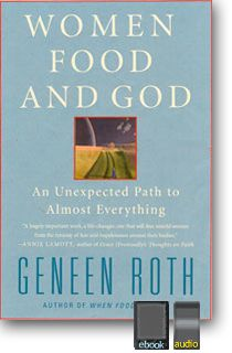 'The obsession will end because you care enough about yourself to stop damaging yourself. Don't fix what ain't broken.' A profound insight to the title Women Food and God by Geneen Roth.