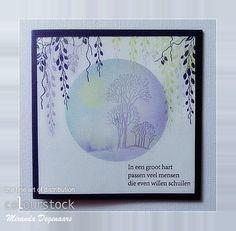 Colourstock: Werken in een cirkel......met PanPastel
