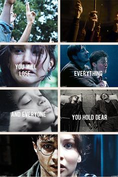 Harry potter + hunger games